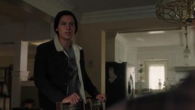 Black Sherpa Jacket worn by Jughead Jones (Cole Sprouse) in Riverdale Season 4 Episode 16