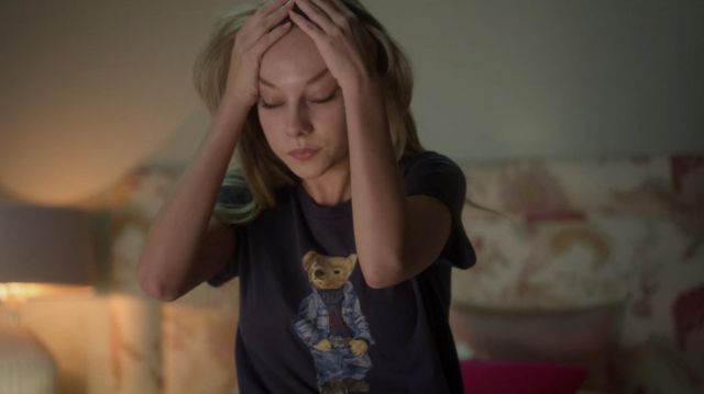 Ralph Lauren Polo Bear cotton T-shirt worn by Carla (Ester Expósito) in Elite (S03E06)