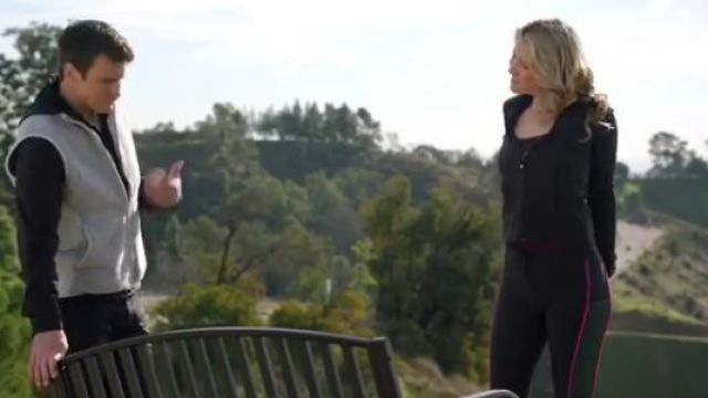 Piped Leggins worn by Dr. Grace Sawyer (Ali Larter) in The Rookie Season 2 Episode 14