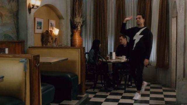 Adidas White Stan Smith Sneakers worn by David Rose (Daniel Levy) in Schitt's Creek (S03E13)