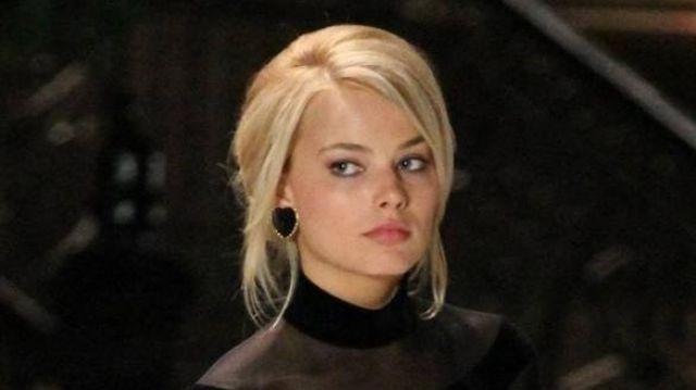Black heart earrings worn by Naomi Lapaglia (Margot Robbie) in The Wolf of Wall Street