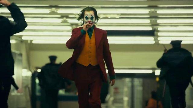 Yellow Vest worn by Arthur Fleck (Joaquin Phoenix) as seen in Joker