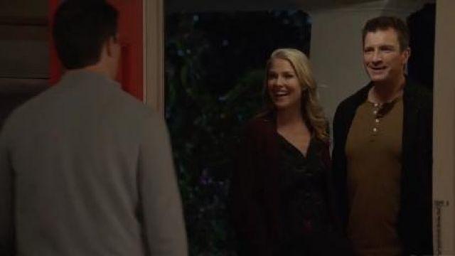 Floral Dress worn by Dr. Grace Sawyer (Ali Larter) in The Rookie Season 2 Episode 16