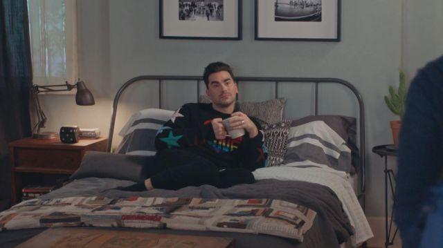 Valentino Love Intarsia Sweater worn by David Rose (Daniel Levy) in Schitt's Creek (S06E14)