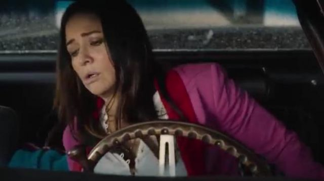 Blazer Hot Pink worn by Sam Fox (Pamela Adlon) in Better Things Season 4 Episode 6
