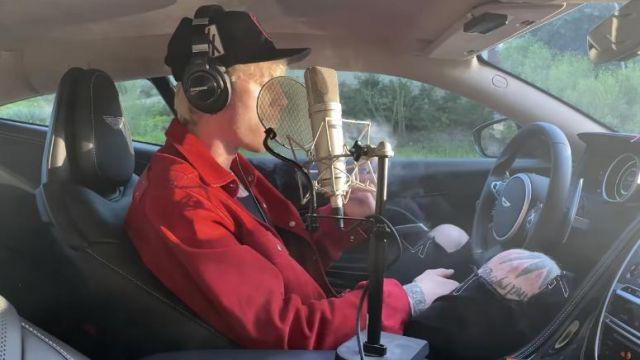 Samson Headphones used by Machine Gun Kelly in his Smoke and Drive music video