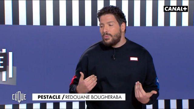 Le sweatshirt Puma porté par Redouane Bougheraba dans l'émission Clique