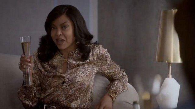 Le verre de champagne  de Cookie Lyon (Taraji P. Henson) dans la série Empire (Saison 6 Épisode 18)