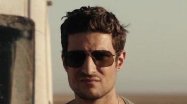 Les lunettes de soleil portées par Jonas Maury (Louis Garrel) dans Le Bureau des légendes (S05E05)