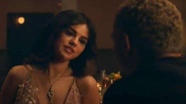 Cushnie sans Manches Col Bénitier Robe à Ourlet Asymétrique portés par Selena Gomez dans son petit Copain (official Music Video)