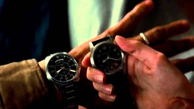 La montre de pilote Hamilton de Cooper (Matthew McConaughey) dans Interstellar