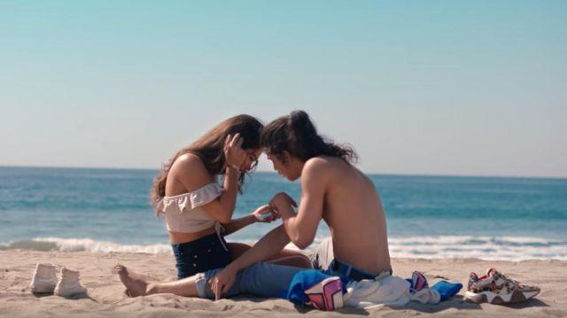 Les sneakers léopard Versace de Moha La Squale dans son clip Santa Monica