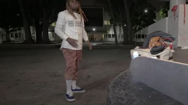 Vans Era (Can­cun) Skate Shoes worn by Lil Wayne in his Piano Trap & Not Me (Official Music Video)