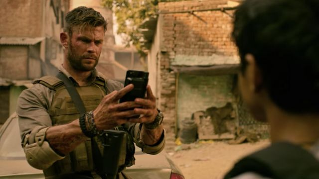 Tactical Vest Plate Carrier worn by Tyler Rake (Chris Hemsworth) as seen in Extraction