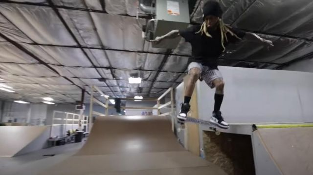 Nike Jordan 1 Retro High Clay Green worn by Lil Wayne in his Piano Trap & Not Me (Official Music Video)