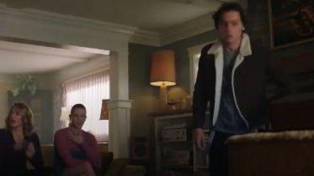 Sherpa Trucker Jacket worn by Jughead Jones (Cole Sprouse) in Riverdale Season 4 Episode  18