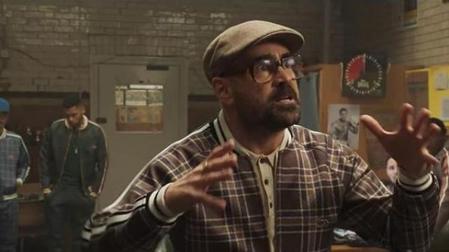 La casquette portée par le Coach (Colin Farrell) dans The Gentlemen