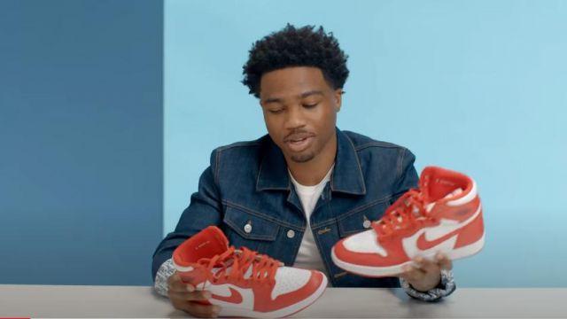 Nike Jordan 1 Retro Haute de Nouveaux Commencements Pack de baskets de Roddy Ricch dans 10 Choses Roddy Ricch ne Peut pas Vivre Sans   GQ vidéo YouTube