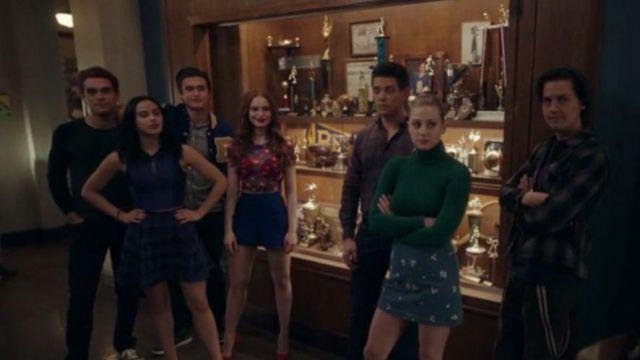 Floral Denim Mini Skirt worn by Betty Cooper (Lili Reinhart) in Riverdale Season 4 Episode 19
