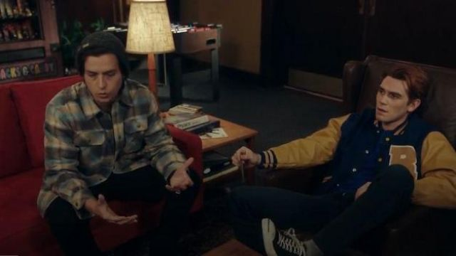 Plaid Shirt Jacket worn by Jughead Jones (Cole Sprouse) in Riverdale Season 4 Episode 19