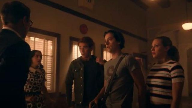 Short Sleeve Ribbed Sweater worn by Betty Cooper (Lili Reinhart) in Riverdale Season 4 Episode 19