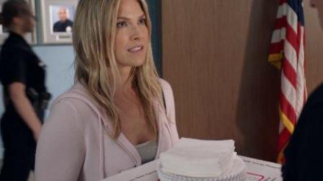 Pink Zip Up Hoodie worn by Dr. Grace Sawyer (Ali Larter) in The Rookie Season 2 Episode 19