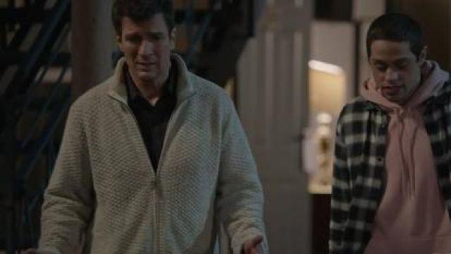 Beige Zip-Front Sweater worn by John Nolan (Nathan Fillion) in The Rookie Season 2 Episode 13