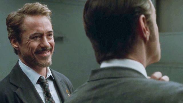 Epitome Apparel & Design Tie worn by Tony Stark / Iron Man (Robert Downey Jr.) in Avengers: Endgame