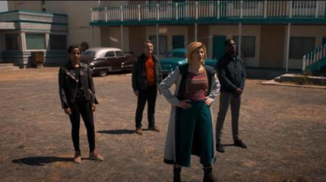 Costume Cosplay Halloween porté par Le Médecin (Jodie Whittaker) dans Doctor Who Saison 11