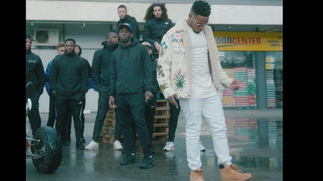 Les bottes Timberland portées par Niska dans le clip M.D de 4Keus