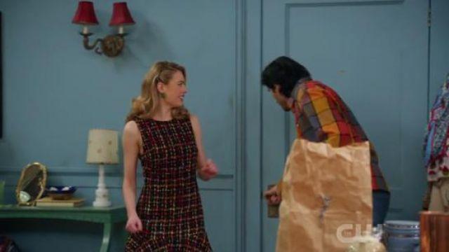 Tweed Mini Dress worn by Atropos (Joanna Vanderham) in DC's Legends of Tomorrow Season 5 Episode 14