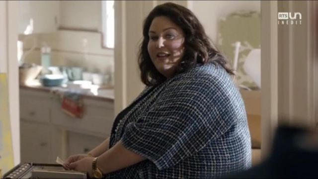 The gold watch Kate Pearson (Chrissy Metz) in This Is Us (S02E01)