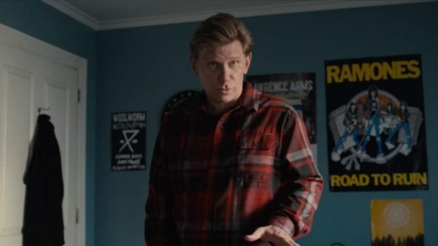 The poster of the Ramones in the room of Alex Standall (Miles Heizer) in 13 Reasons Why (S04E01)