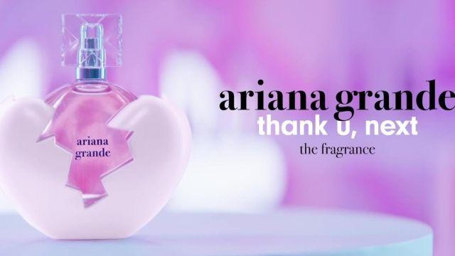 Le parfum Ariana Grande dans le clip thank u, next