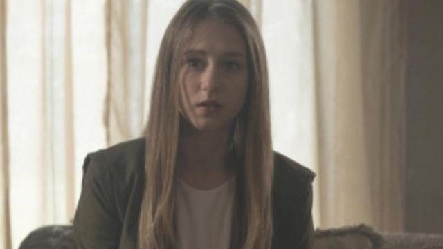 Green Jacket worn by Violet Harmon (Taissa Farmiga) as seen in American Horror Story