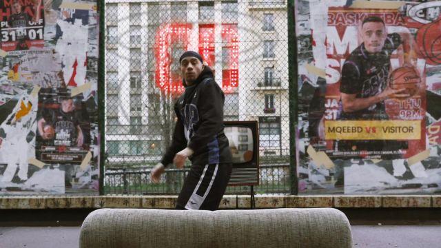 Le short Nike porté par Mister V dans son clip MIAMI HEAT