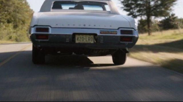 1971 Oldsmobile Cutlass Car driven by Stan Lee as seen in Avengers: Endgame