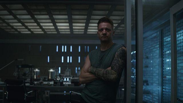 Green Tank Top worn by Clint Barton / Hawkeye (Jeremy Renner) in Avengers: Endgame
