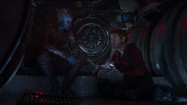 Red Henley Shirt worn by Tony Stark / Iron Man (Robert Downey Jr.) in Avengers: Endgame
