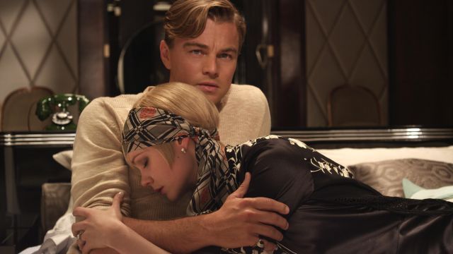 Grey Sweater worn by Jay Gatsby (Leonardo DiCaprio) as seen in The Great Gatsby