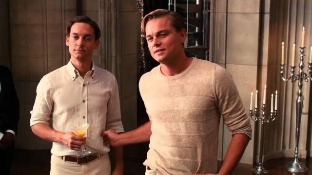 Sweater worn by Jay Gatsby (Leonardo DiCaprio) as seen in The Great Gatsby