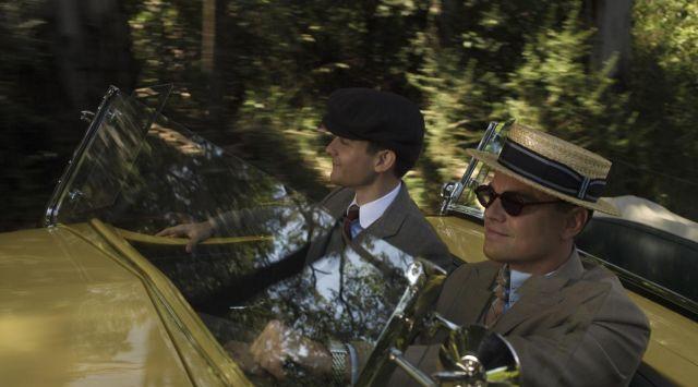 The sunglasses of Jay Gatsby (Leonardo Di Caprio) in The Great Gatsby