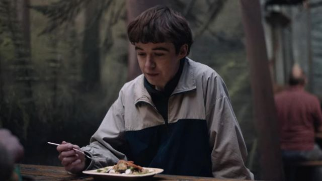 Two Tone Windbreaker Jacket worn by James (Alex Lawther) in The End of the F***ing World (Season 2 Episode 2)