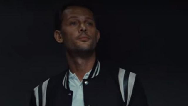 The Black Jacket And White Saint Laurent Worn By Areski Nicolas Duvauchelle In Lost Ball Spotern