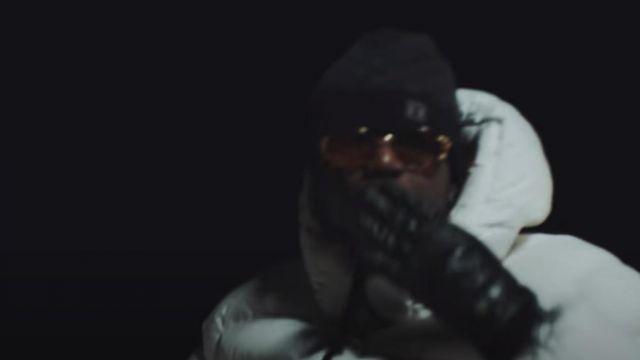 Le bonnet Louis Vuitton porté par Ninho dans son clip Zipette