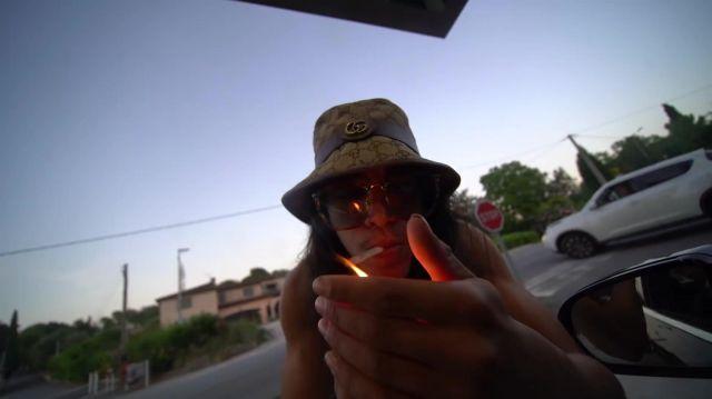 Le bob Gucci porté par Moha La Squale dans son clip Bébé de Bogota