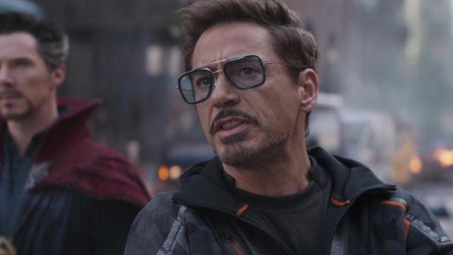 Dita Square Sunglasses worn by Tony Stark / Iron Man (Robert Downey Jr.) in Avengers: Infinity War
