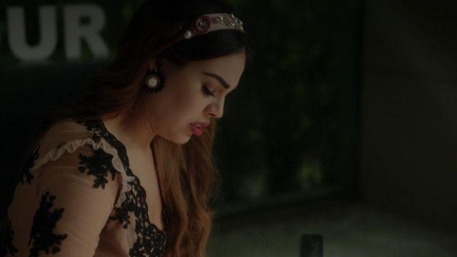 For Love & Lemons Bodysuit worn by Lu (Danna Paola) as seen in Elite S01E01