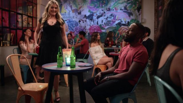 Burgundy Polo Shirt Worn By Sean Lamorne Morris As Seen In Desperados Spotern