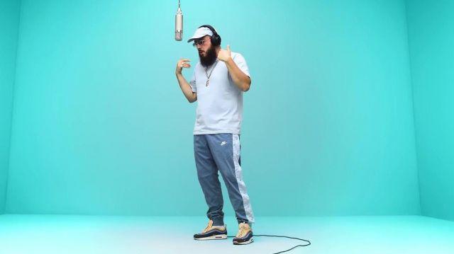 La pantalon de jogging Nike de Caballero dans le clip Californie de Caballero & JeanJass | A COLORS SHOW